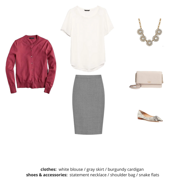 Workwear Fall 2018 Capsule Wardrobe - Outfit 57