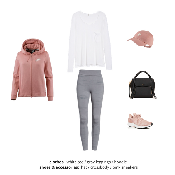 Athleisure Capsule Wardrobe Fall 2018 - Outfit 63