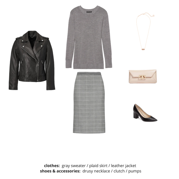 French Minimalist Capsule Wardrobe Fall 2018 - Outfit 64