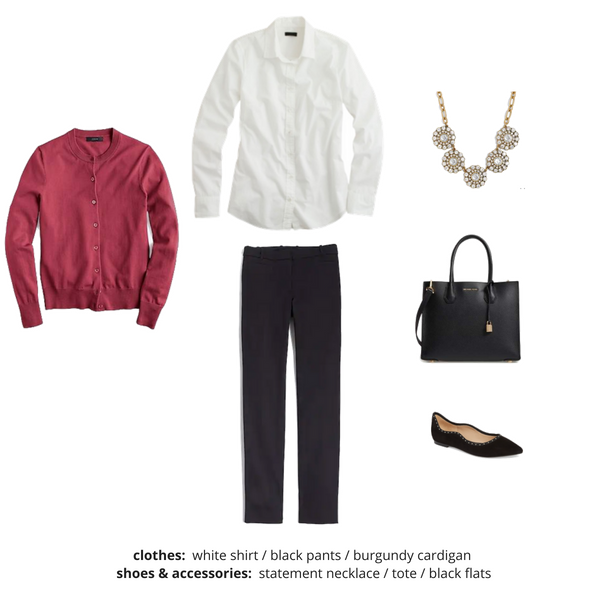 Workwear Fall 2018 Capsule Wardrobe - Outfit 65