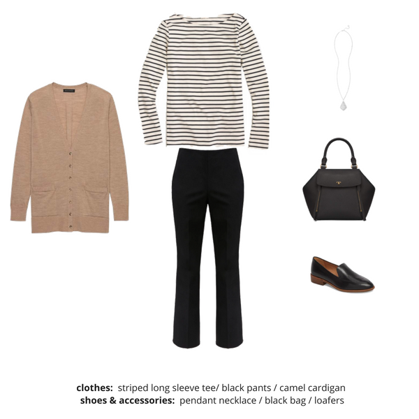 French Minimalist Capsule Wardrobe Fall 2018 - Outfit 72