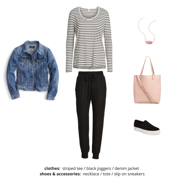 Athleisure Capsule Wardrobe Fall 2018 - Outfit 74