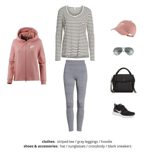 Athleisure Capsule Wardrobe Fall 2018 - Outfit 80