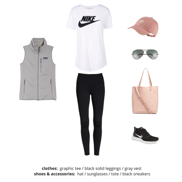 Athleisure Capsule Wardrobe Fall 2018 - Outfit 86