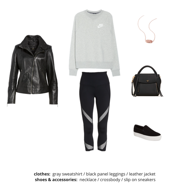 Athleisure Capsule Wardrobe Fall 2018 - Outfit 93