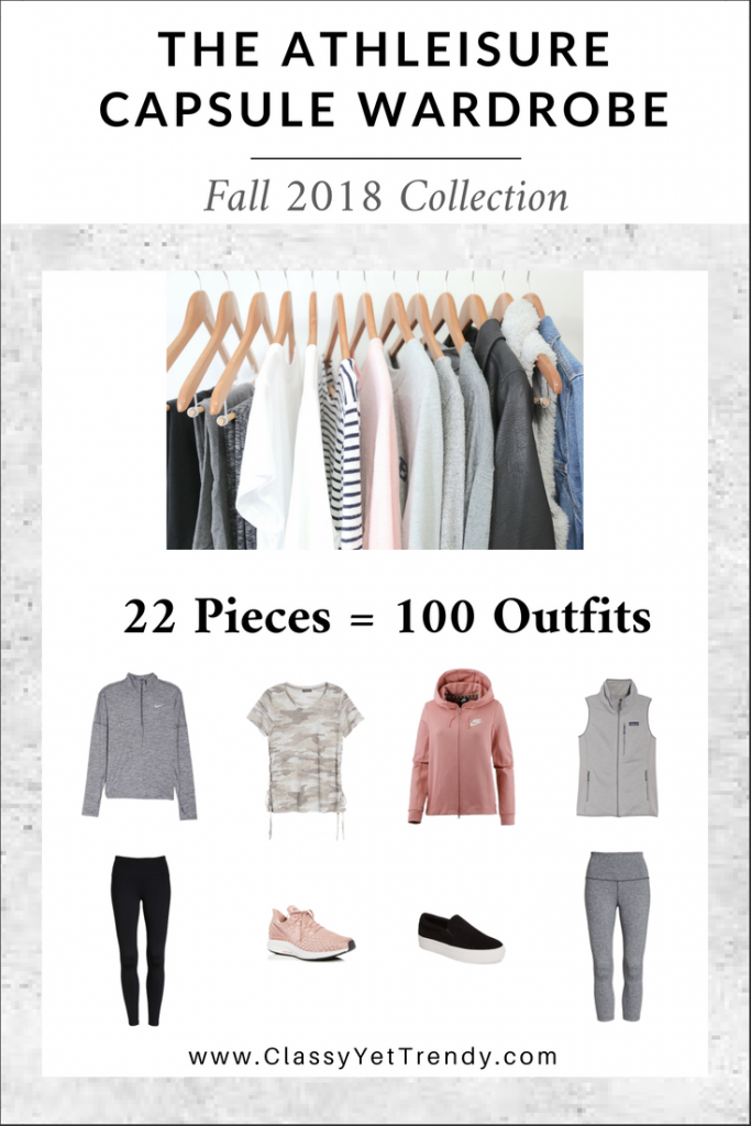 ATHLEISURE Fall 2018 Capsule Wardrobe eBook