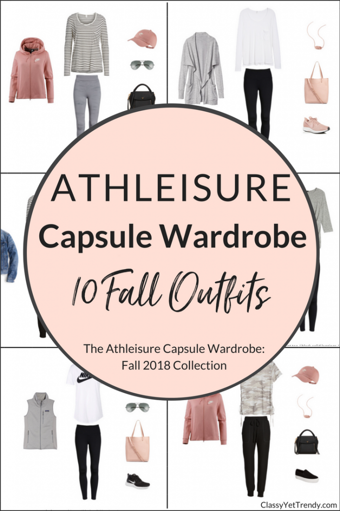 Athleisure Capsule Wardrobe 10 Fall 2018 Outfits