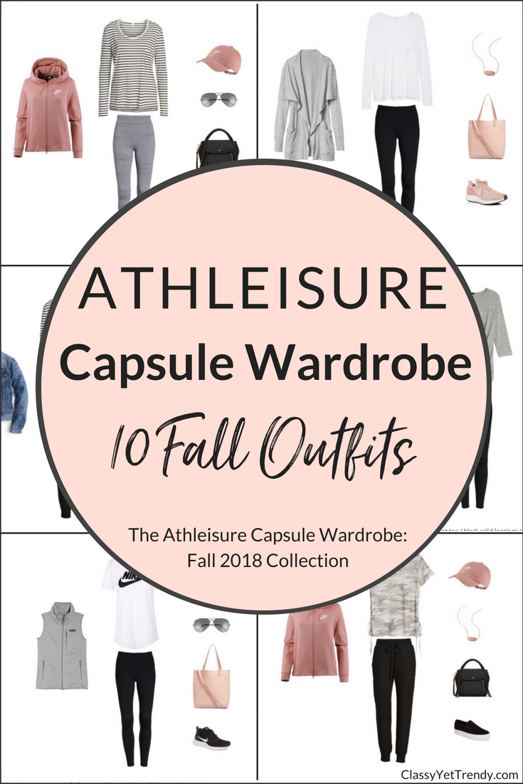Athleisure Capsule Wardrobe Fall 2018 Preview + 10 Outfits