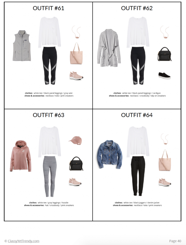 Athleisure Fall 2018 Capsule Wardrobe - page 40