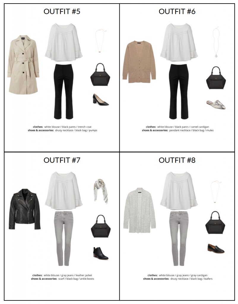 French Minimalist Capsule Wardrobe Fall 2018 - page2 sample