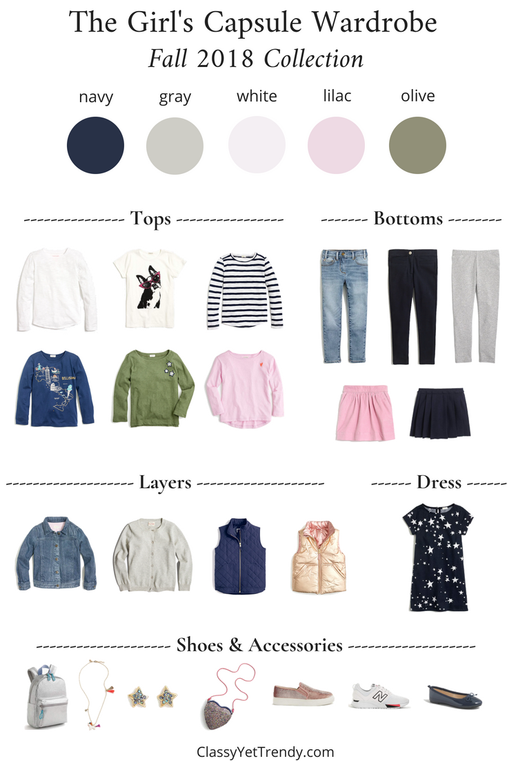 The Girls Fall 2018 Capsule Wardrobe