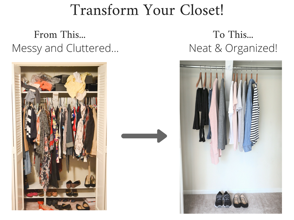 Transform Your Closet - Stay At Home Mom Fall 2018