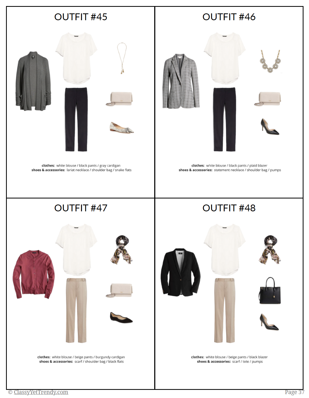 Workwear Capsule Wardrobe Fall 2018 - Page2
