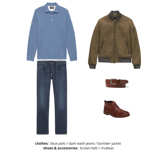 Mens Capsule Wardrobe Fall 2018 - Outfit 24