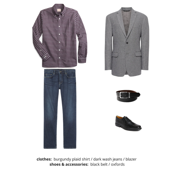Mens Capsule Wardrobe Fall 2018 - Outfit 45