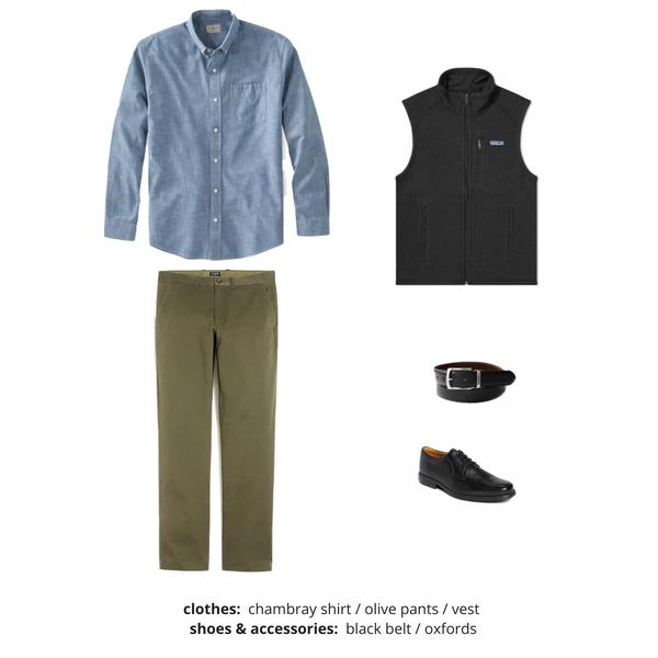 Mens Capsule Wardrobe Fall 2018 - Outfit 55