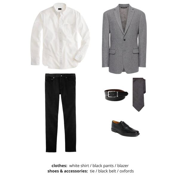 Mens Capsule Wardrobe Fall 2018 - Outfit 6