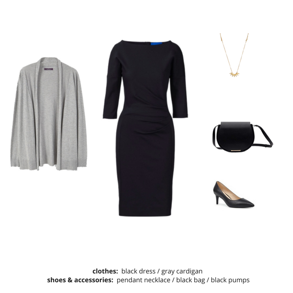 Simplified Style Capsule Wardrobe eBook - Outfit 116