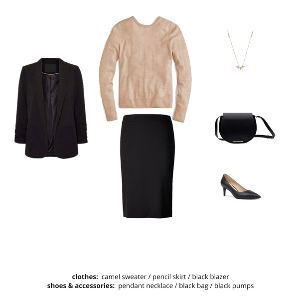 Simplified Style Capsule Wardrobe eBook - Outfit 68