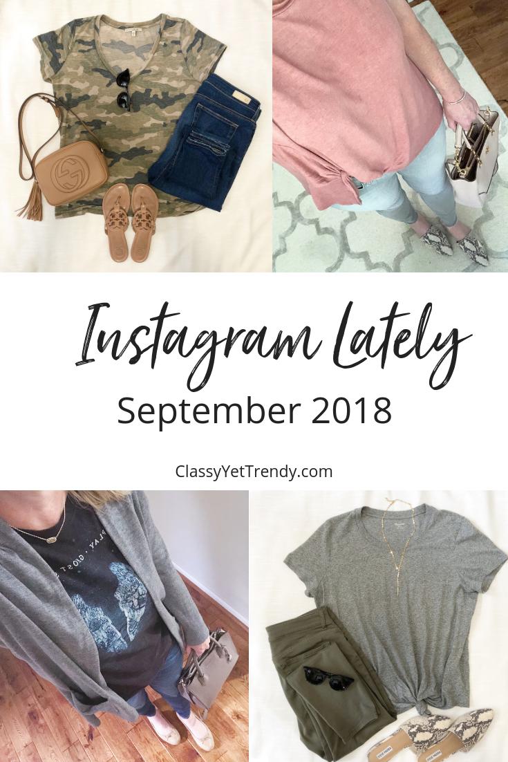 Instagram Lately - September 2018