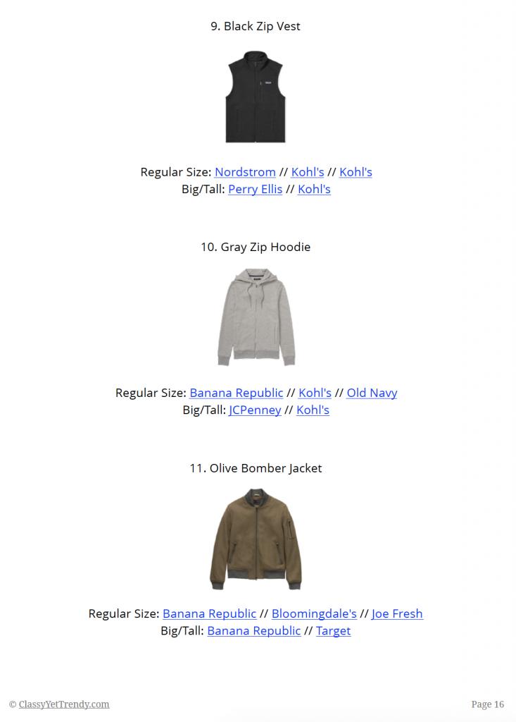 Mens Capsule Wardrobe Fall 2018 - sample page 16