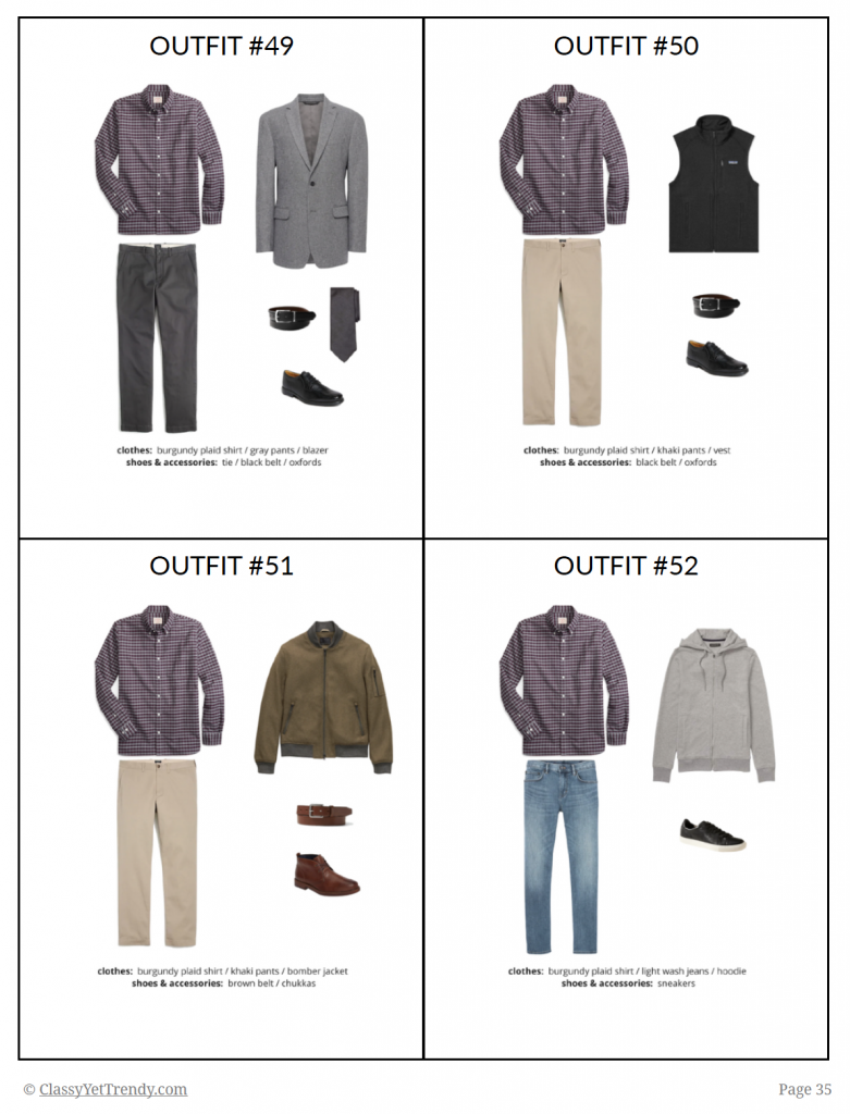 Mens Capsule Wardrobe Fall 2018 - sample page 35