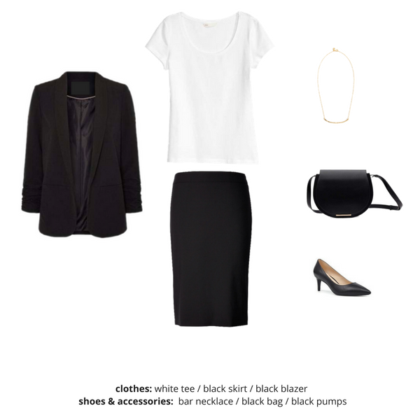 Simplified Style Capsule Wardrobe eBook - Outfit 18
