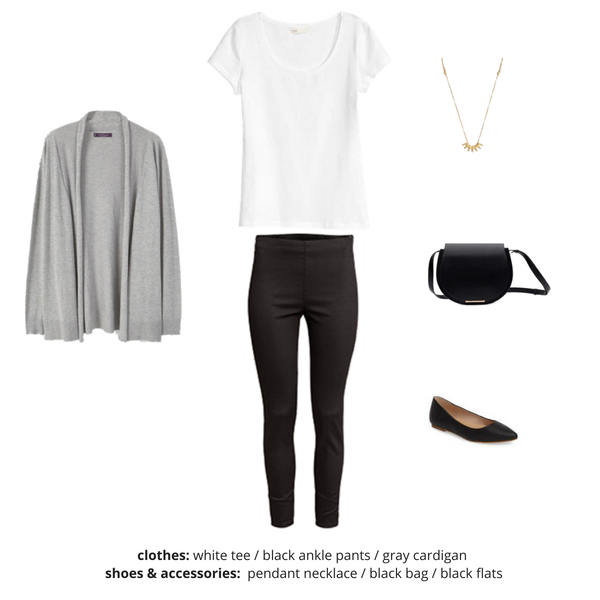 Simplified Style Capsule Wardrobe eBook - Outfit 4