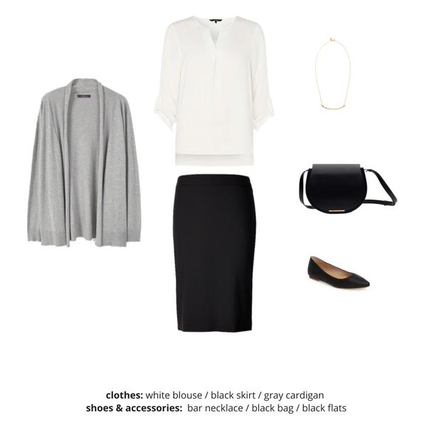 Simplified Style Capsule Wardrobe eBook - Outfit 49