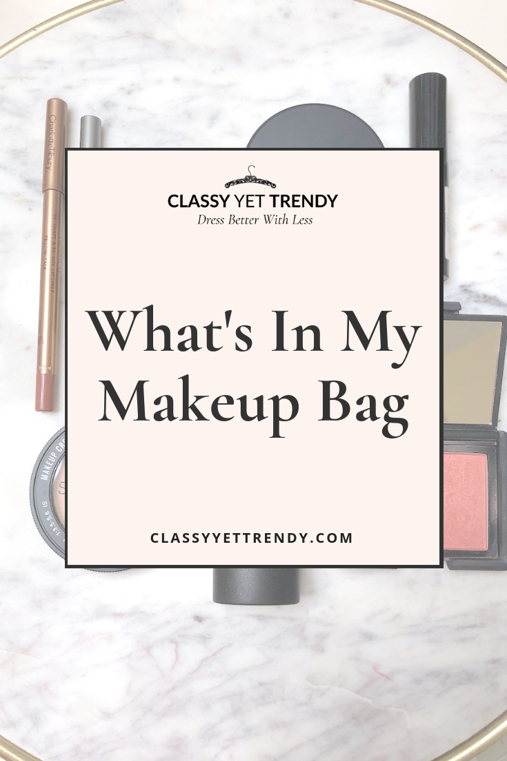 What's In My Makeup Bag - Foundation Eyeshadow Blush Lipcolor
