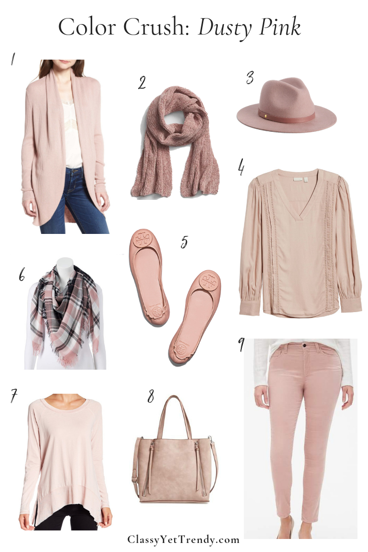 Color Crush Dusty Pink Classy Yet Trendy