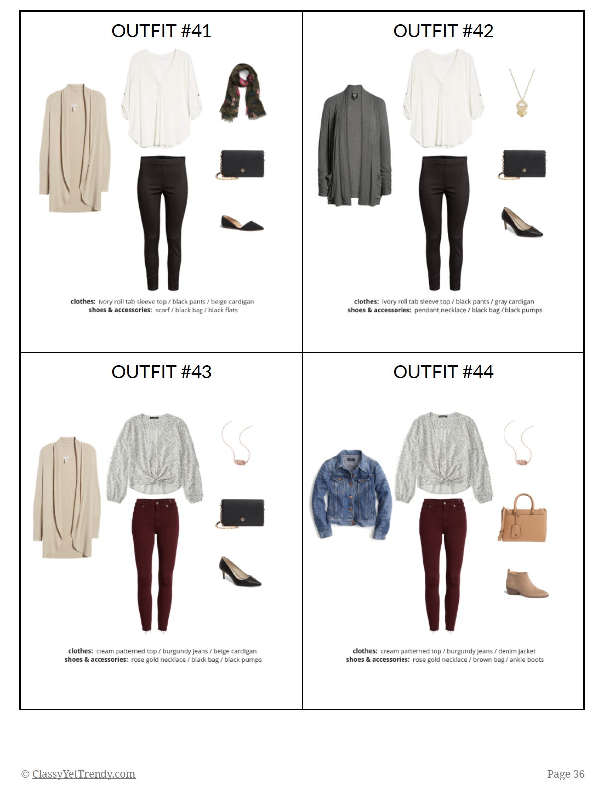 Essential Capsule Wardrobe - Fall2018 - page 36