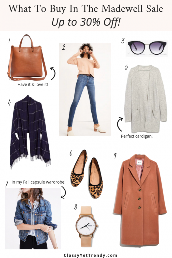 What To Buy In The Madewell Sale: Up To 30% Off!