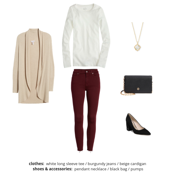 Essential Capsule Wardrobe Winter 2018-2019 - Outfit 10