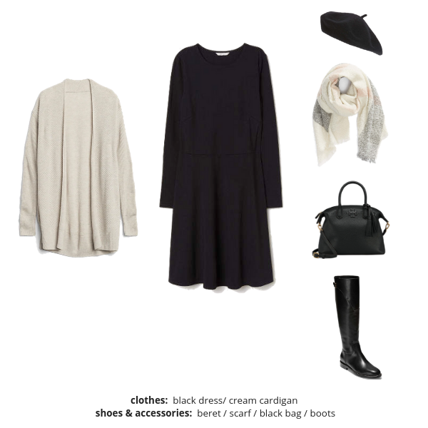 The French Minimalist Capsule Wardrobe Winter 2018-2019 - Outfit 100