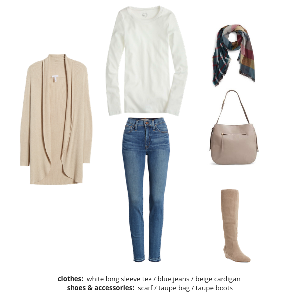 Essential Capsule Wardrobe Winter 2018-2019 - Outfit 13
