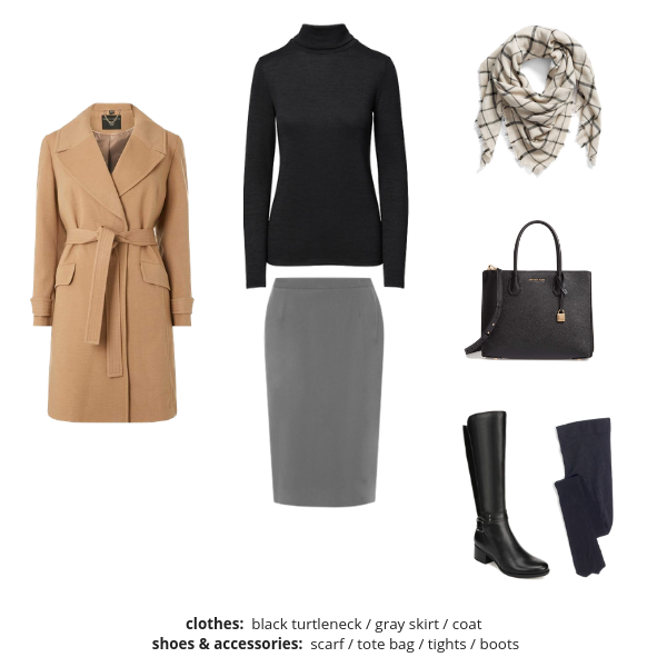 Workwear Capsule Wardrobe Winter 2018-2019 - Outfit 25