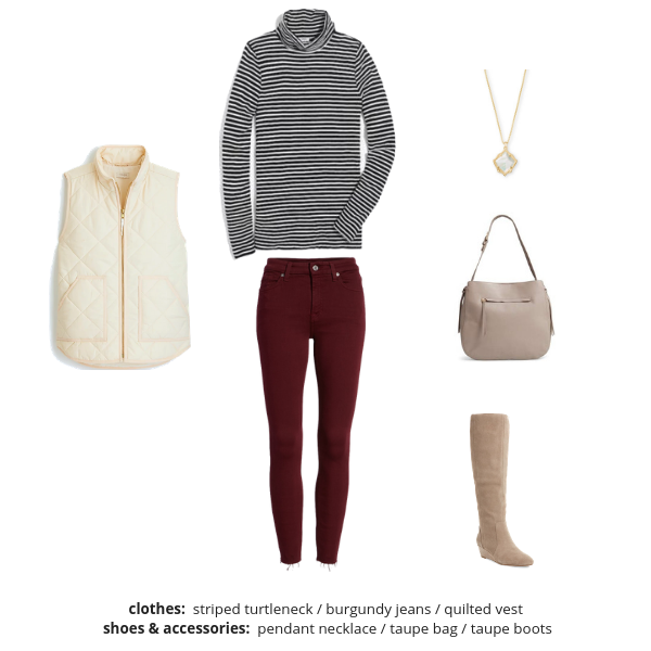 Essential Capsule Wardrobe Winter 2018-2019 - Outfit 33
