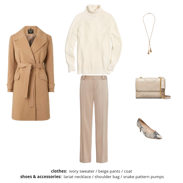 Workwear Capsule Wardrobe Winter 2018-2019 - Outfit 48