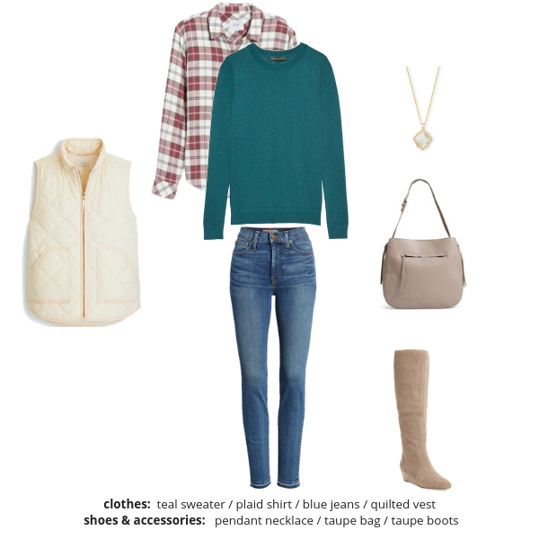 Essential Capsule Wardrobe Winter 2018-2019 - Outfit 64