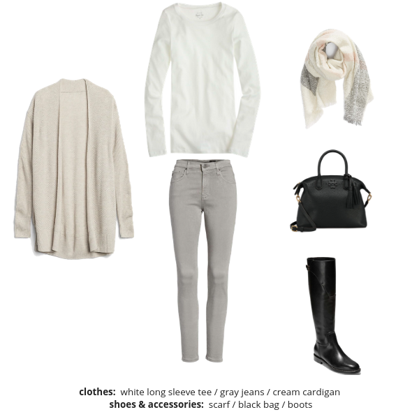 The French Minimalist Capsule Wardrobe Winter 2018-2019 - Outfit 89