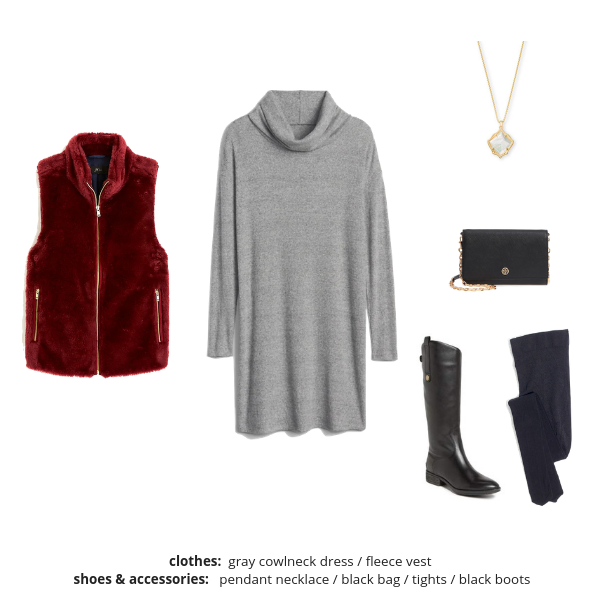 Essential Capsule Wardrobe Winter 2018-2019 - Outfit 97