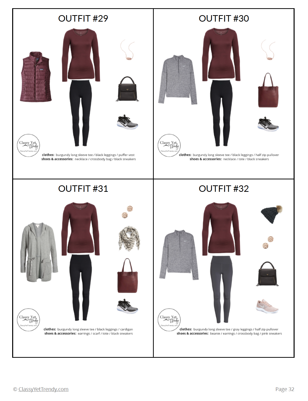 Athleisure Capsulce Wardrobe - Winter 2018-2019 - page 32
