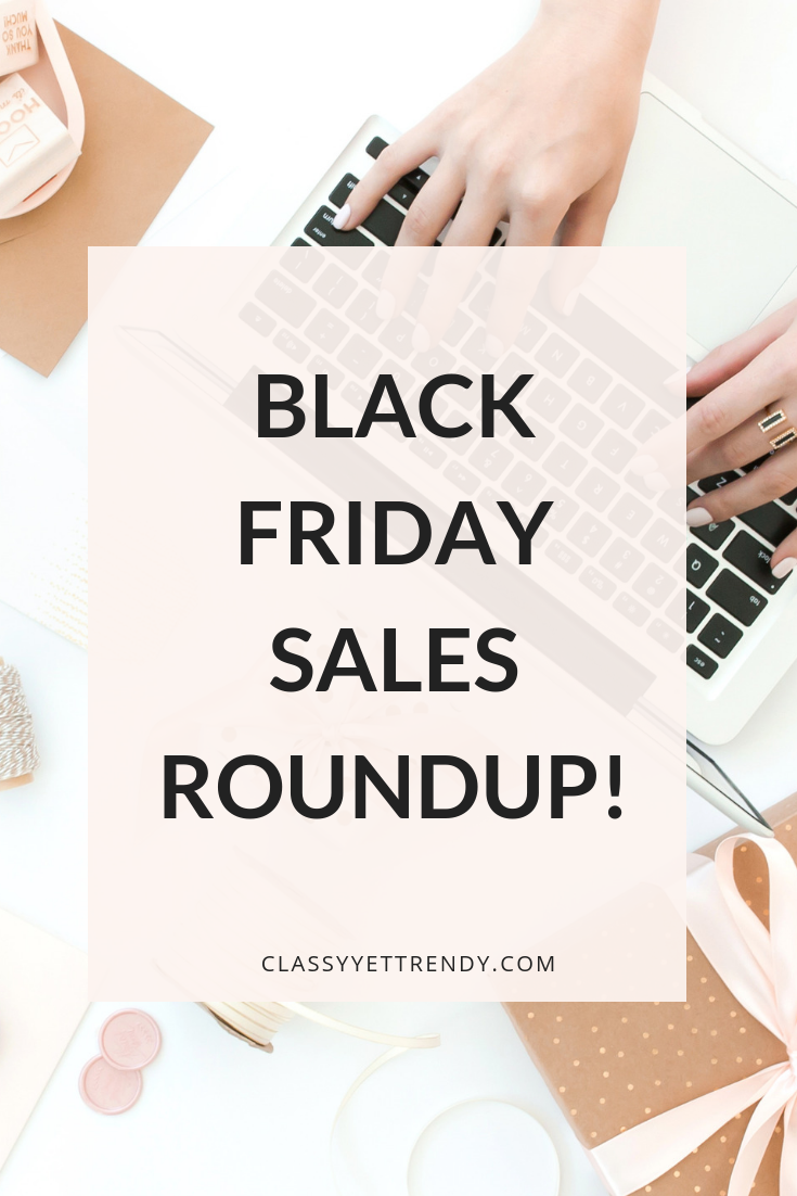 BLACK FRIDAY SALES 2018 ROUNDUP