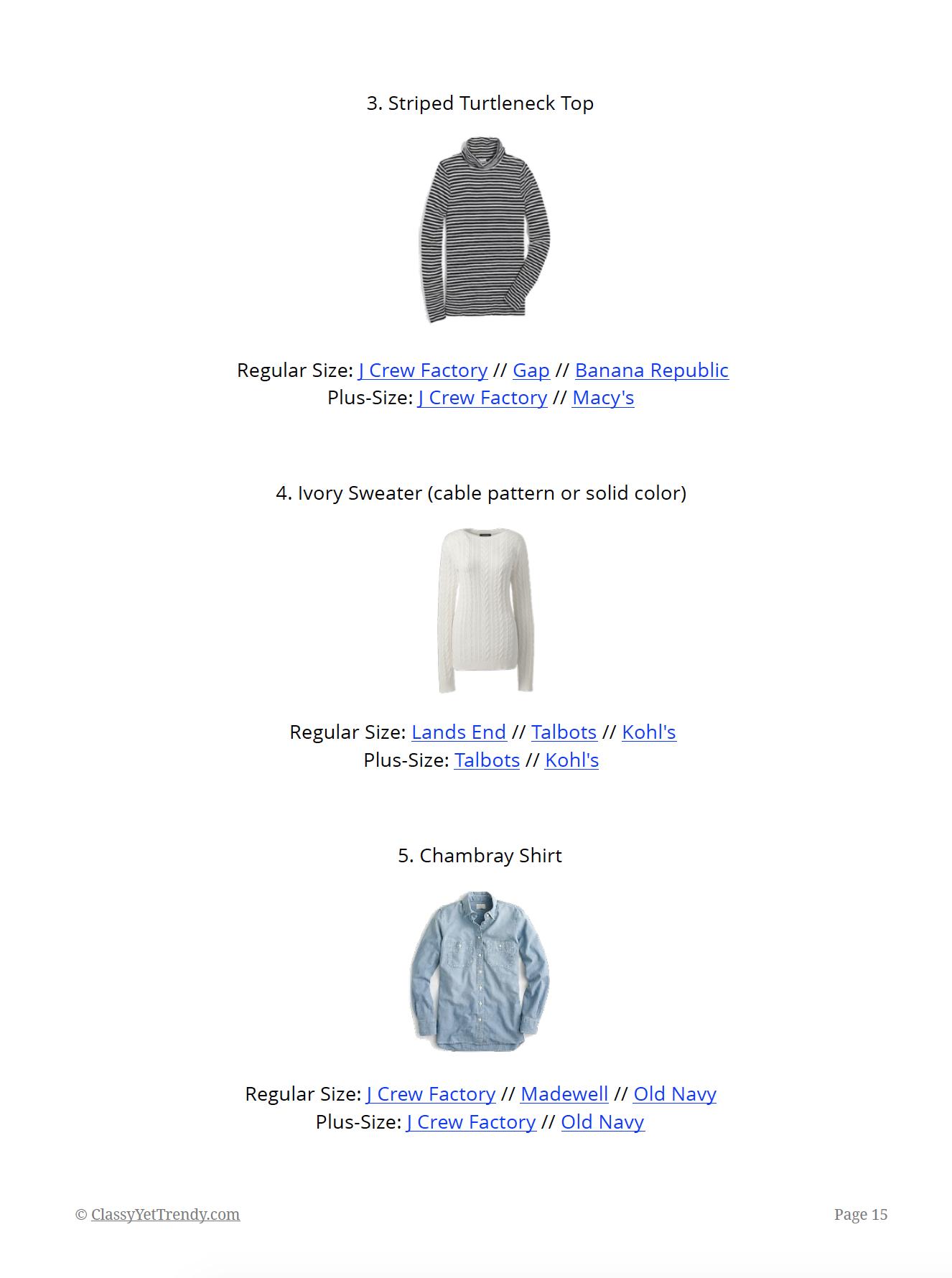 Essential Capsule Wardrobe Winter 2018-2019 - page 15