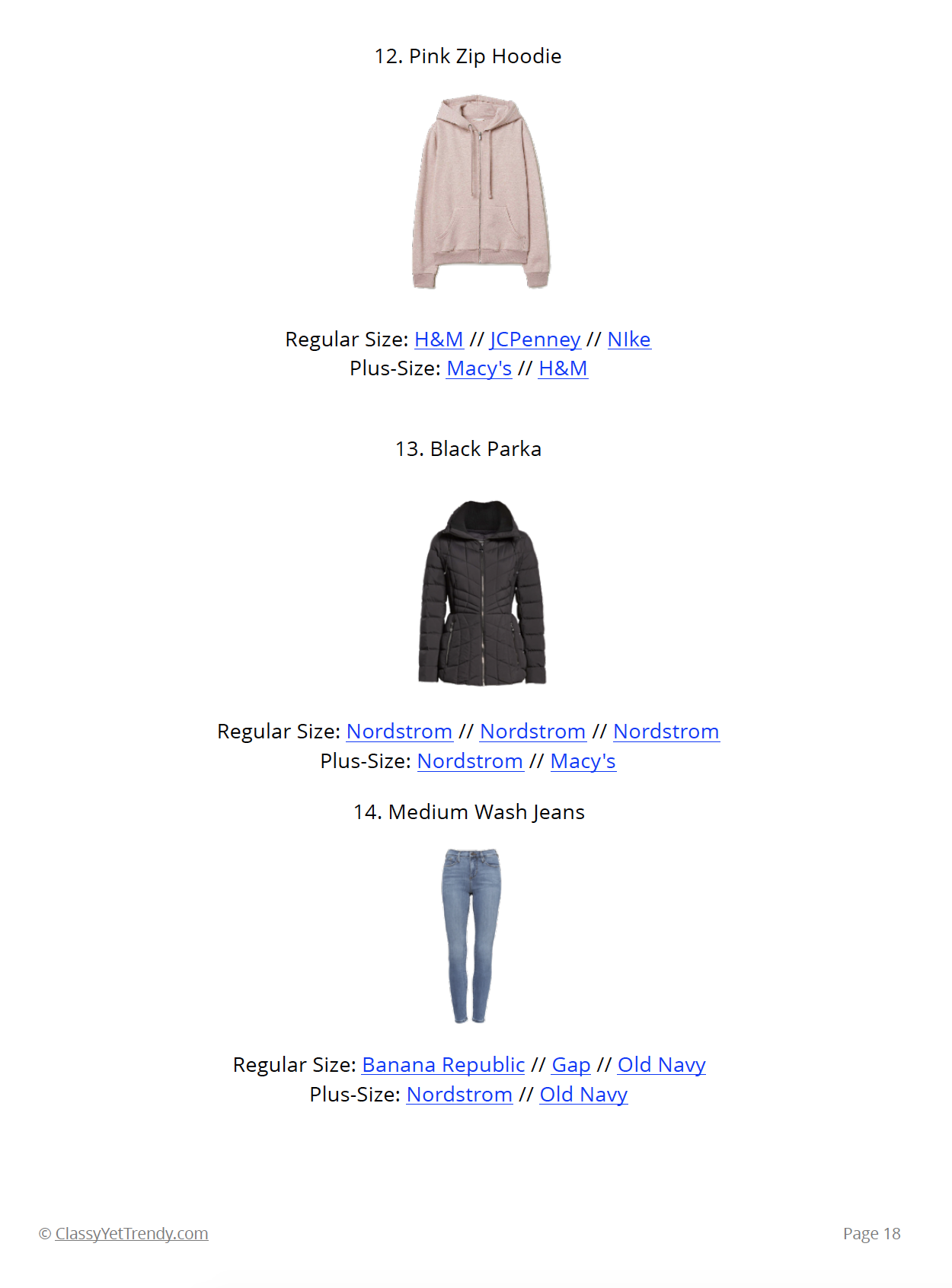 Stay At Home Mom Capsule Wardrobe - page 18