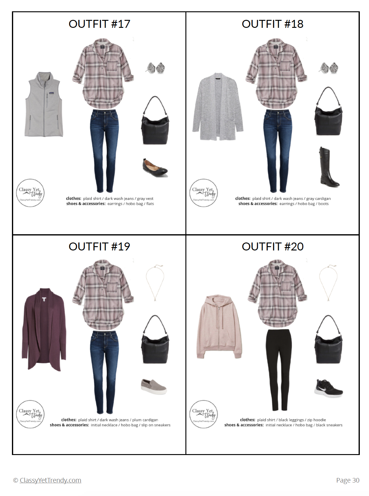 Stay At Home Mom Capsule Wardrobe - page 30