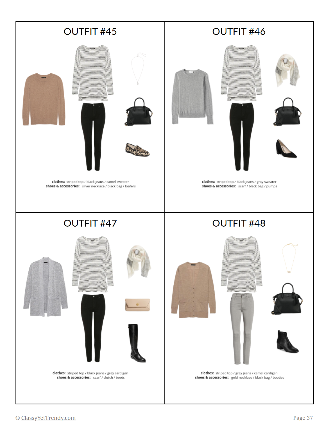 The French Minimalist Capsule Wardrobe Winter 2018 2019