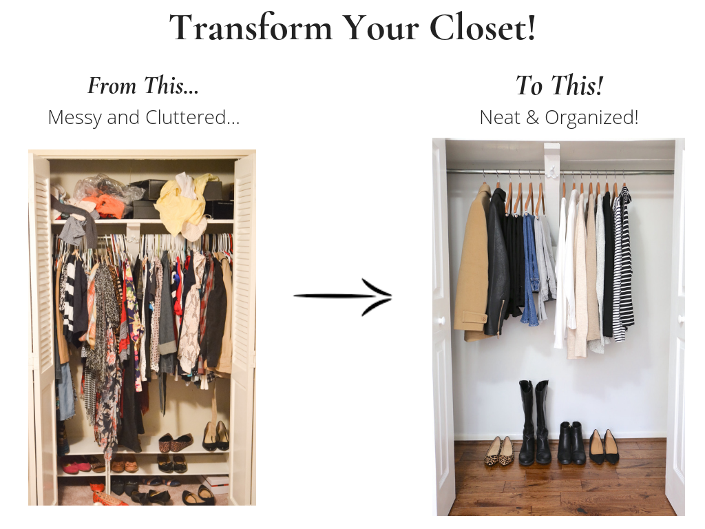 Transform Your Closet - French Minimalist Winter 2018-2019