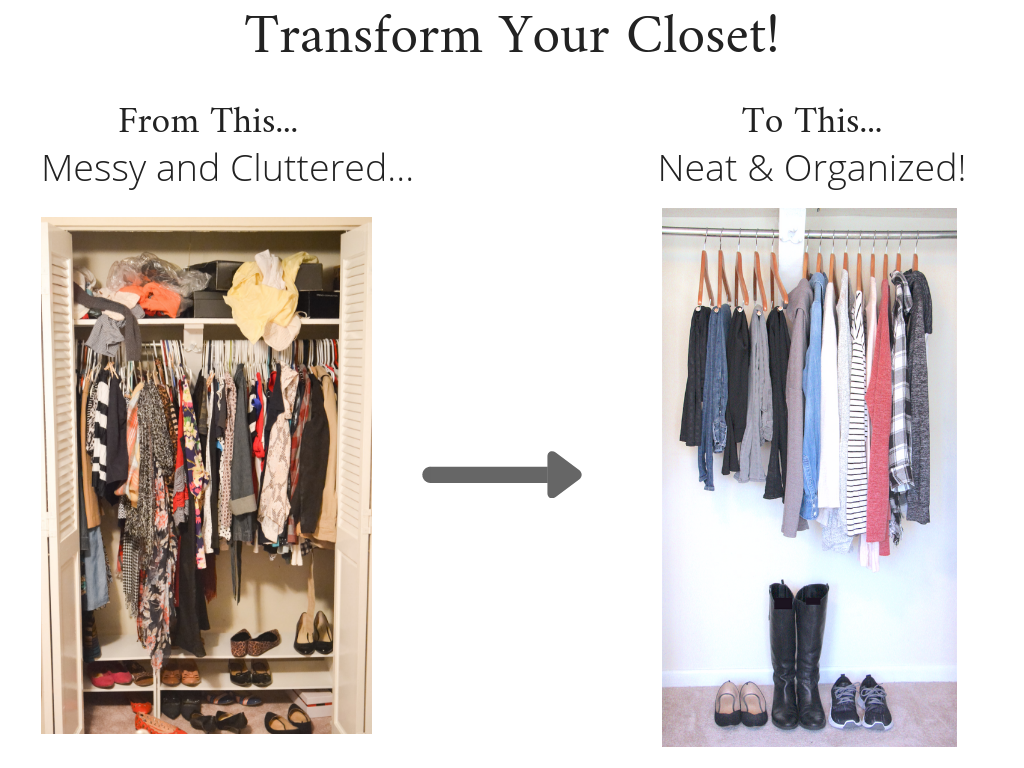 Transform Your Closet - Stay At Home Mom Winter 2018-2019